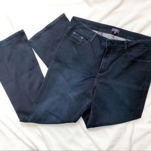 NYDJ bootcut lift tuck dark blue stretch jeans 16W